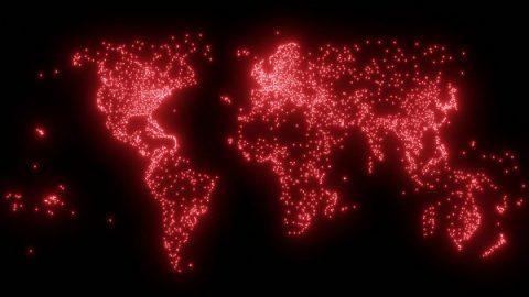 نقشه جهان کوچک ما