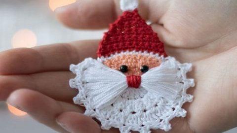 کاردستی سرکلیدی بابانوئل