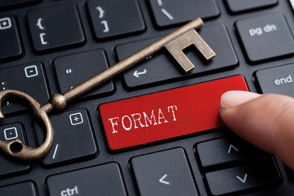 فرمت کردن کامپیوتر
