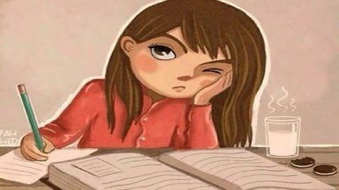 نمی توانم هنگام درس خواندن تمرکز کنم؟ | راه های افزایش تمرکز