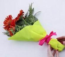 چگونه یک دسته گل را تزیین کنیم؟ | تزیین دسته گل