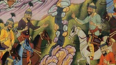 داستان های شاهنامه؛ جنگ و شکست شاه هاماوران