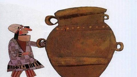داستان ضرب المثل های فارسی؛ آن سبو بشکست و آن پیمانه ریخت