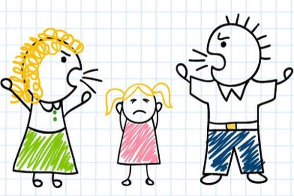 اختلاف والدین