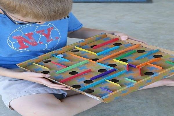 کاردستی بازی تو در تو - کاردستی های خلاقانه