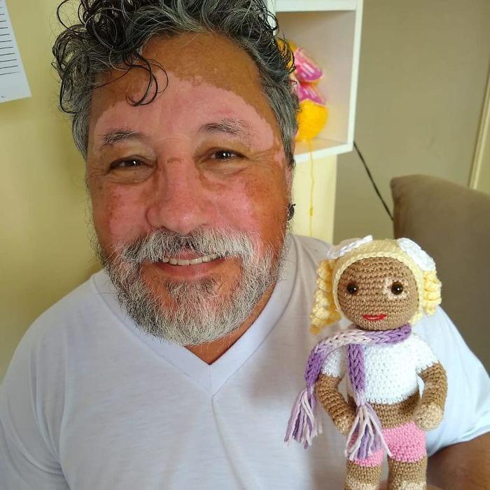 عروسک لک و پیس دار