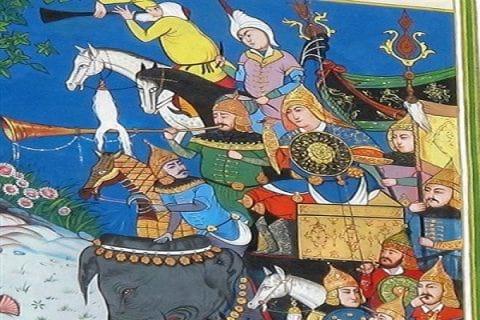 داستان های شاهنامه؛ نبرد رستم و کی کاووس با افراسیاب