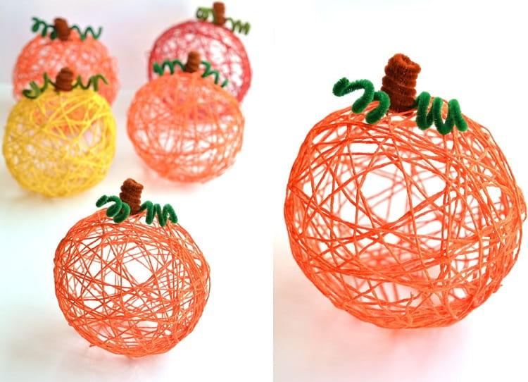 کاردستی میوه های نخی | کاردستی زیبا | کاردستی میوه