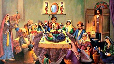 مراسم شب یلدا در افغانستان چگونه برگزار می شود؟