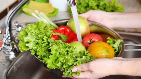 چگونگی کاهش آلودگی میکروبی میوه ها و سبزی ها