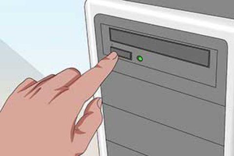 چگونه وقتی یک dvd در دستگاه گیر کرد آن را خارج کنیم؟