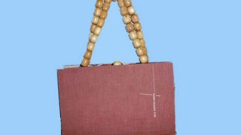 طرز ساخت کیف از جلد یک کتاب