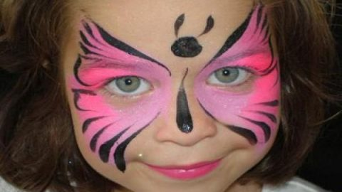 ایده هایی برای نقاشی روی صورت کودکان!