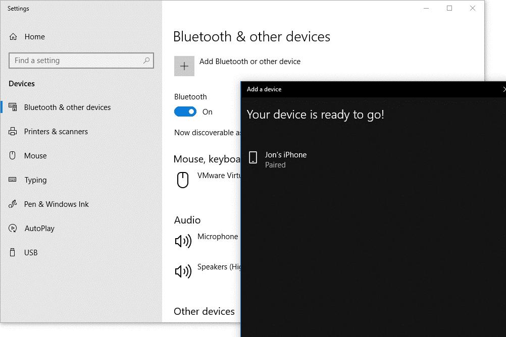 چگونه هندزفری بی سیم را به کامپیوتر وصل کنیم در ویندوز 10