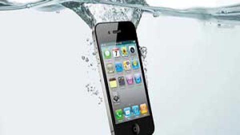 بعد از خیس شدن موبایل چکار کنیم؟
