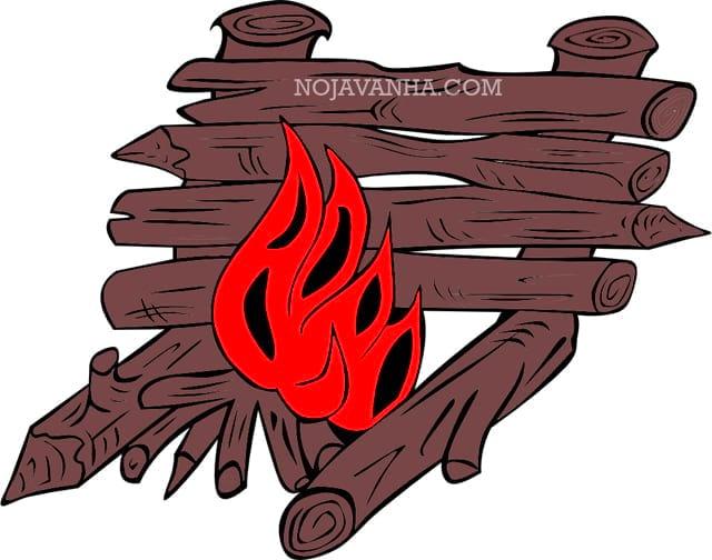 آتش در اردو