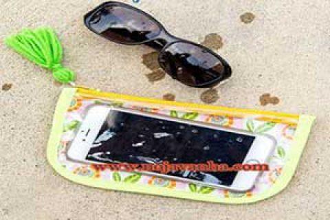 کاردستی آموزش ساخت کاور ضدآب گوشی همراه