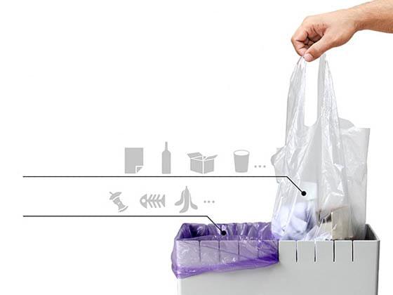 سطل بازیافت زباله
