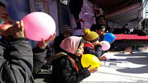 نشریه اینترنتی نوجوان ها در راهپیمایی ۲۲بهمن ۱۳۹۸
