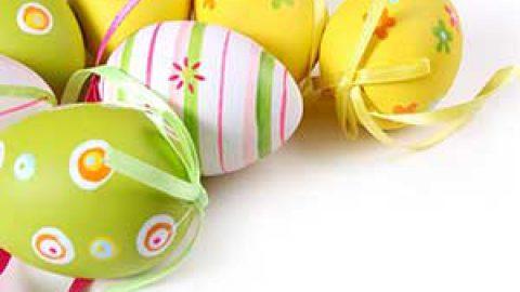 رنگ آمیزی تخم مرغ | رنگ آمیزی با گلهای طبیعی