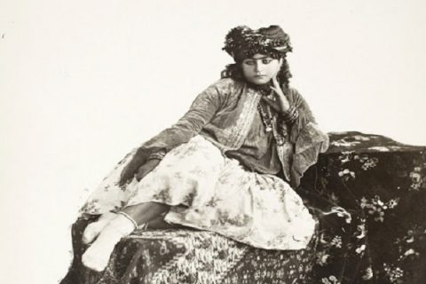 تصاویر دیدنی از دختران ایرانی در دوره قاجار