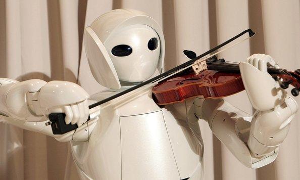 ربات هاي موسيقي دان