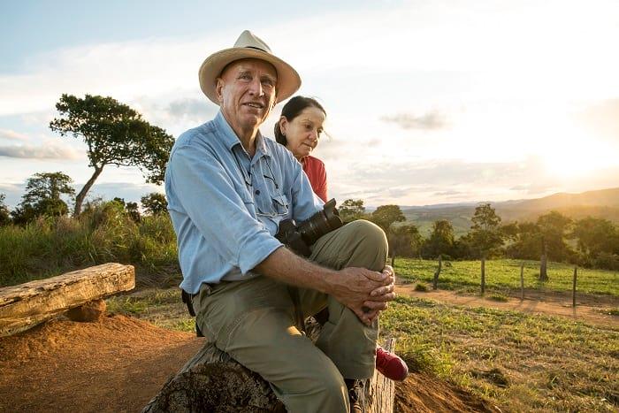 احیای جنگل ، فعالیت زن و شوهر در راستای کمک به محیط زیست