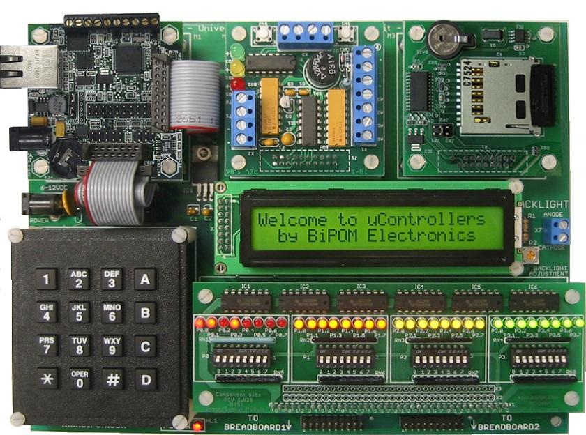 میکروکنترلر ، قطعه ای که داده های ربات را پردازش می کند