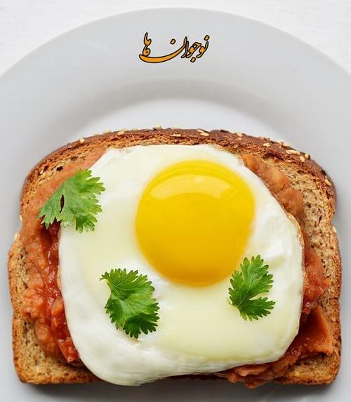 تصویری از یک صبحانه ساده و مقوی
