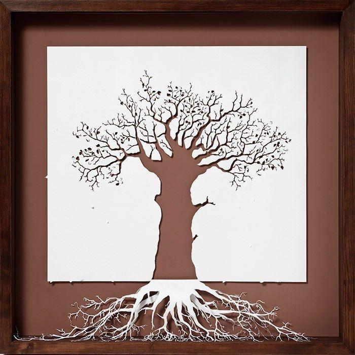 درختی از جنس کاغذ