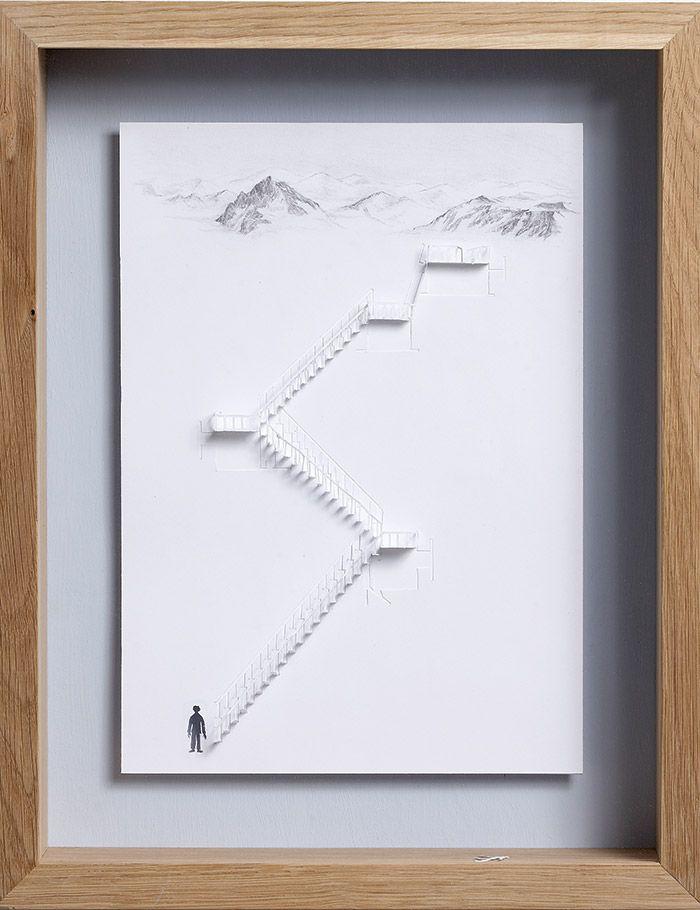 پله کاغذبری