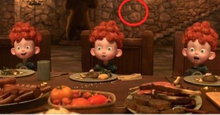 تصویری از میکی موس پنهان در فیلم ها