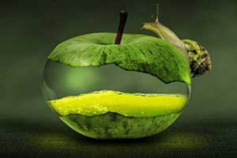 معجزه سیب سبز مهربانی