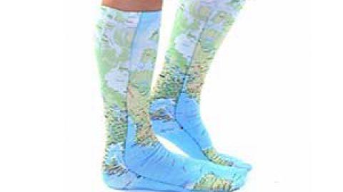جوراب هایی با طرح های عجیب