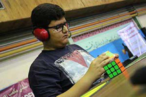 گفتگوی خواندنی با نوجوان موفق و رکورددار حل مکعب روبیک