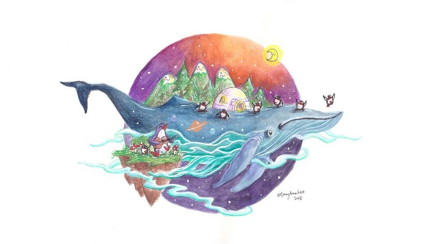 نهنگی که دو قورت و نیمش باقی است