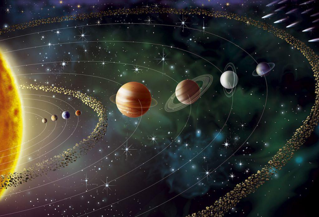 نجوم / منظومه شمسی