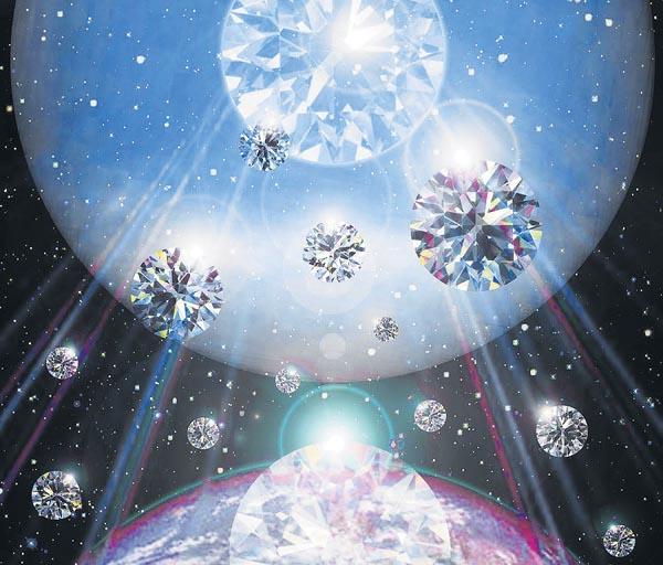 نجوم / باران الماس