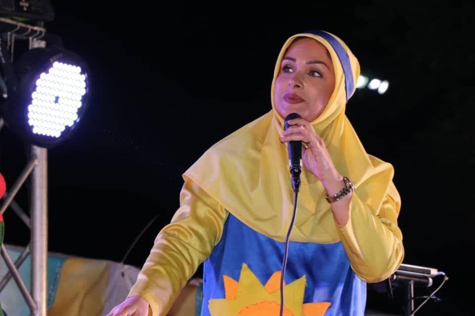 خاله خورشید مجری شبکه جام جم