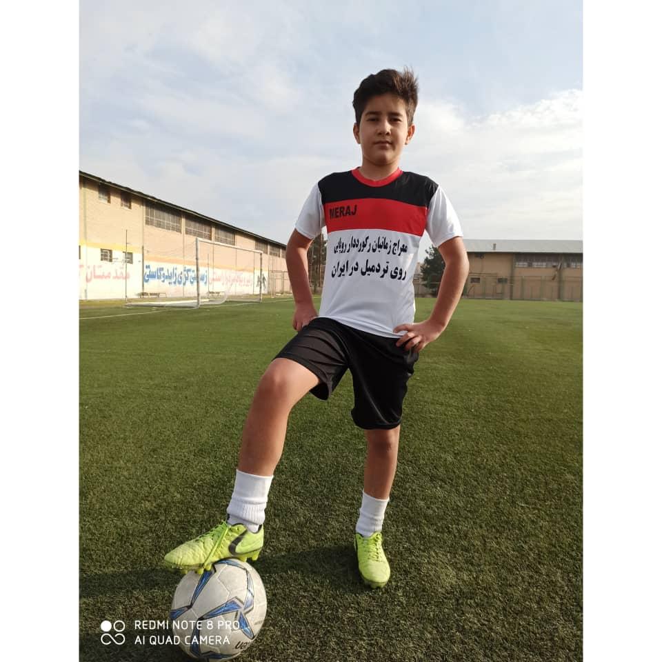 نوجوان موفق ورزشکار