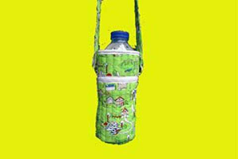 کاردستی پوشش عایق بطری آب