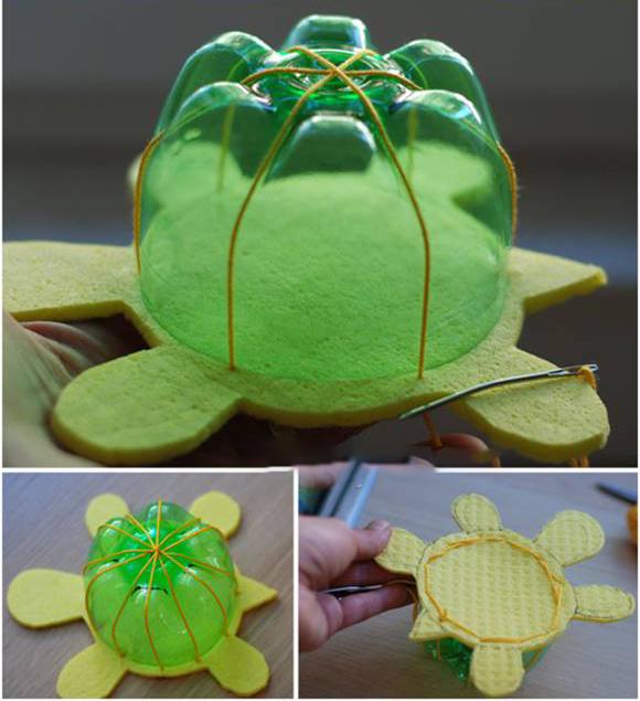 لاکپشت پلاستیکی