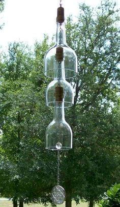کاردستی آویز زیبا با بطری