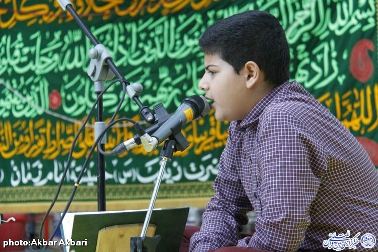 گفتگو با محمدهادی طادی دانش آموزنمونه و قاری نوجوان