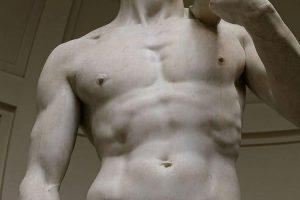 مجسمه داوود از نمای روبرو
