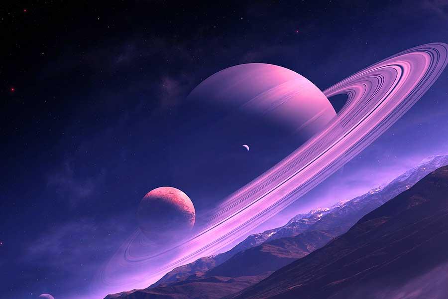 سیاره زحل زیباترین سیاره جهان