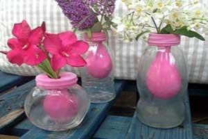 گلدان همیشه بهار