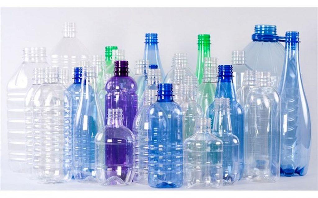 بطری های پلاستیکی