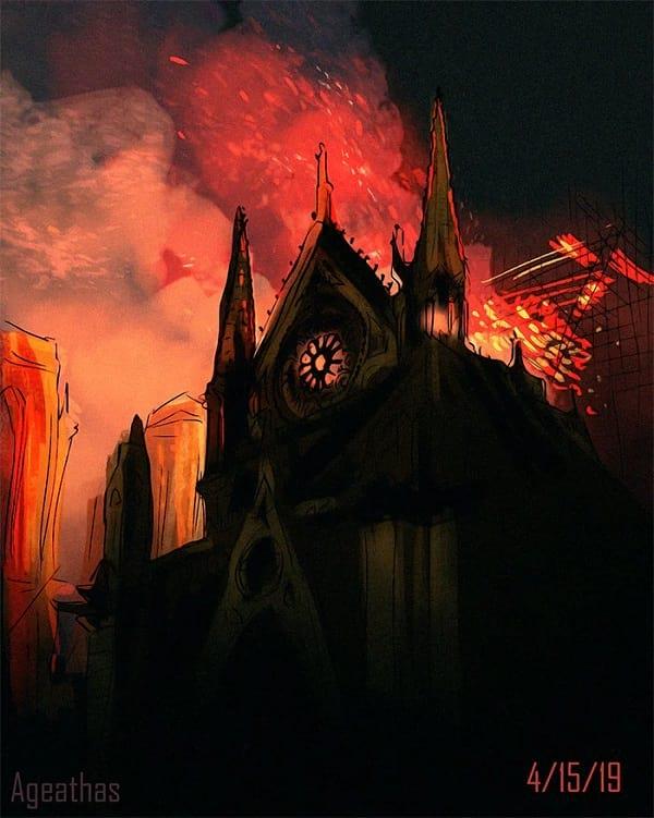 آتش سوزی تاریخی