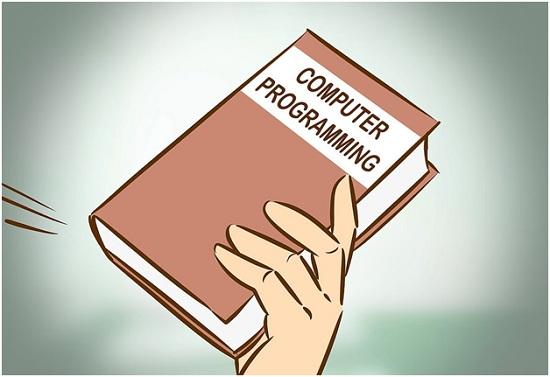 آموزش زبان برنامه نویسی با کتاب